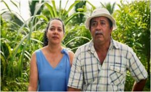 Pedro Garcia and his wife Adilia Villalobos are passionate about looking after nature. Photo: Nell Lewis, CNN